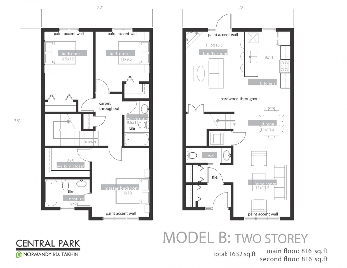 Floor plan gallery edward p carlson surveyors for Home plans gallery